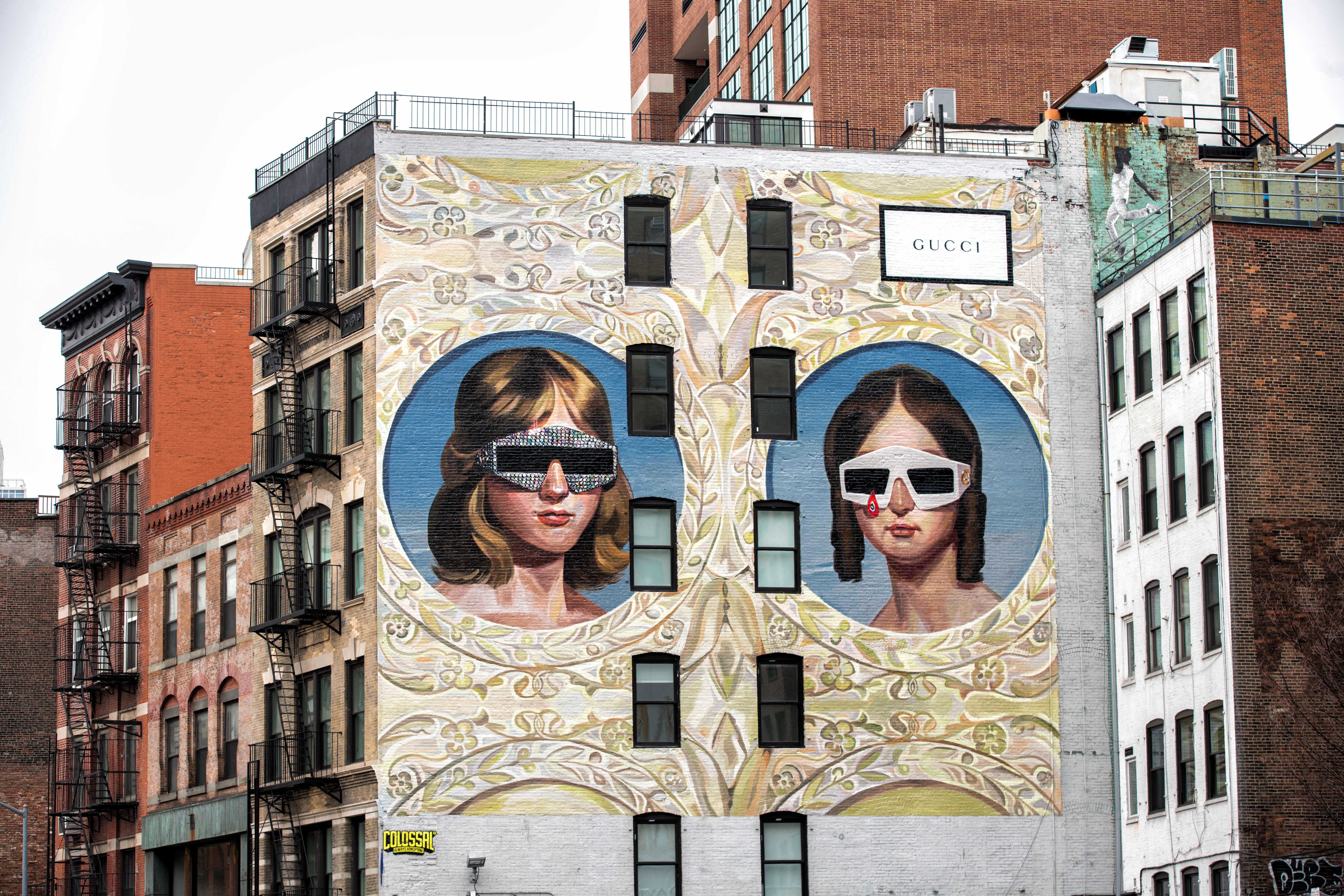 The Gucci Art Wall in New York by Ignasi Monreal