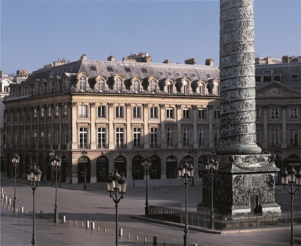 Boucheron store on place Vendôme, Paris, France