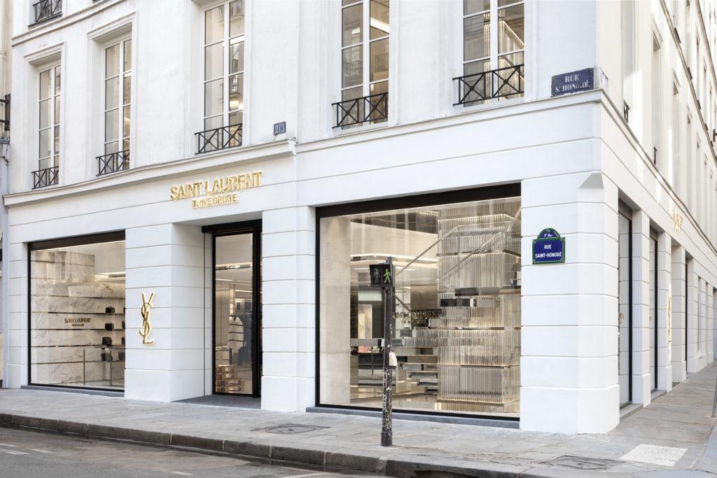Saint Laurent Rive Droite store in Paris, France