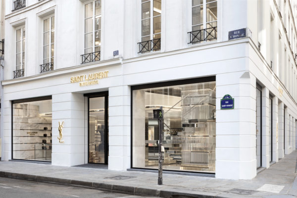 Saint Laurent Rive Droite store in Paris, France