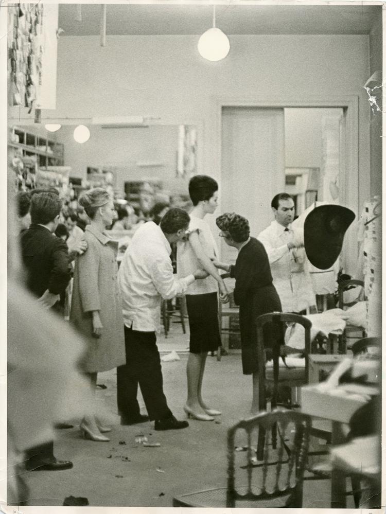 Archives Balenciaga Paris, crédit photo : Thomas Kublin